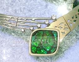 foto náhrdelníku s ammolitem