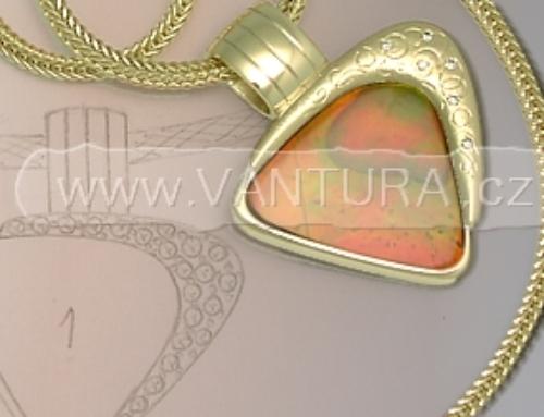 Návrhy a výroba šperků